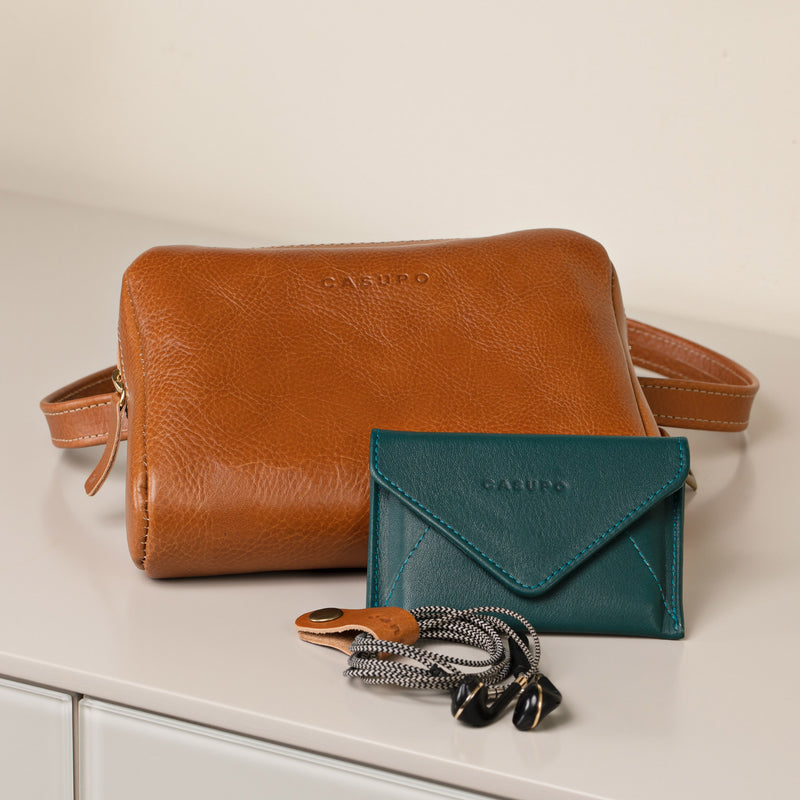 Mini Envelope Wallet - Teal