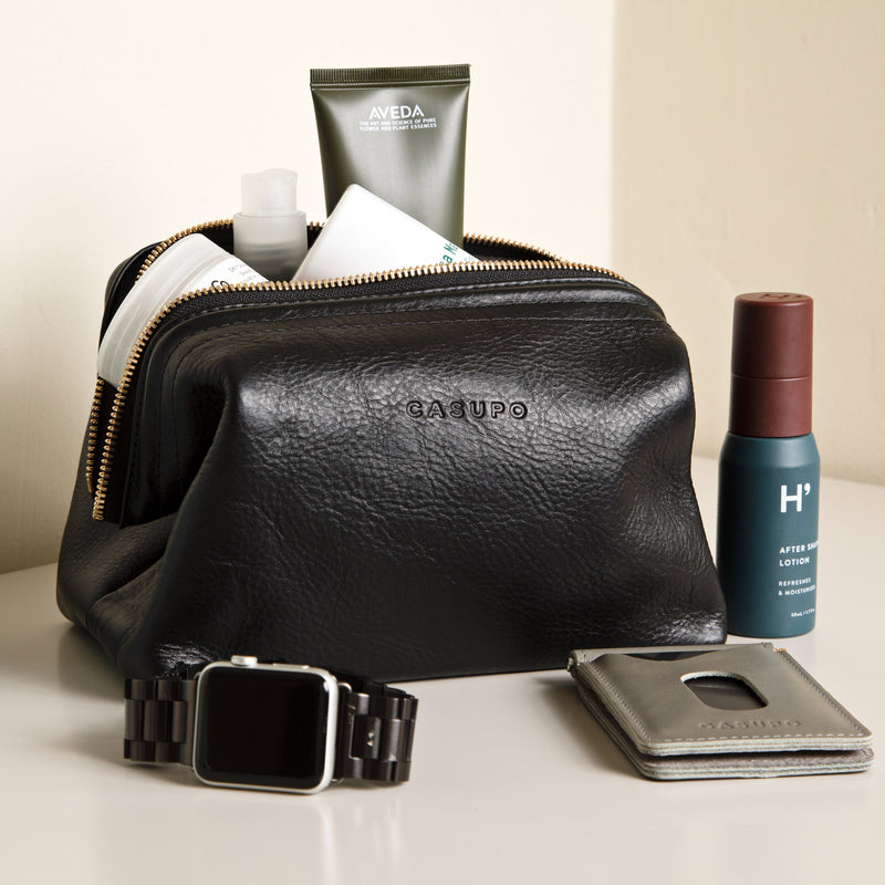 Toiletry Travel Bag - Black