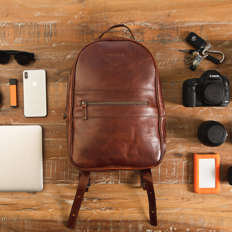 Commuter Backpack - Redwood