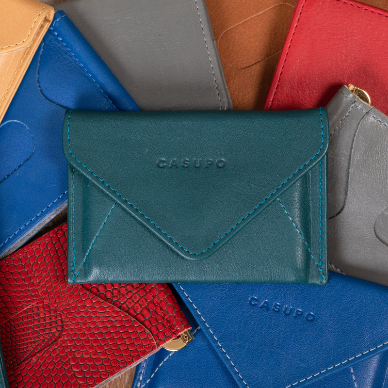 Eco friendly leather wallet for men