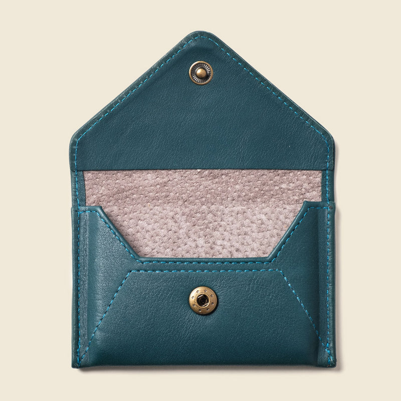 Eco friendly leather wallet for women