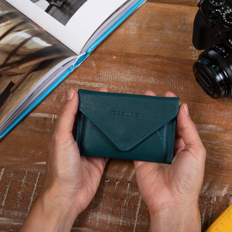 Sustainable leather wallets