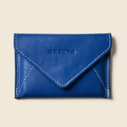 Blue cardholder for women