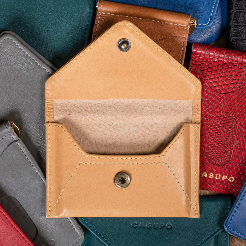 eco friendly leather wallet