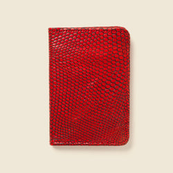 Compact Bifold - Red Lizard