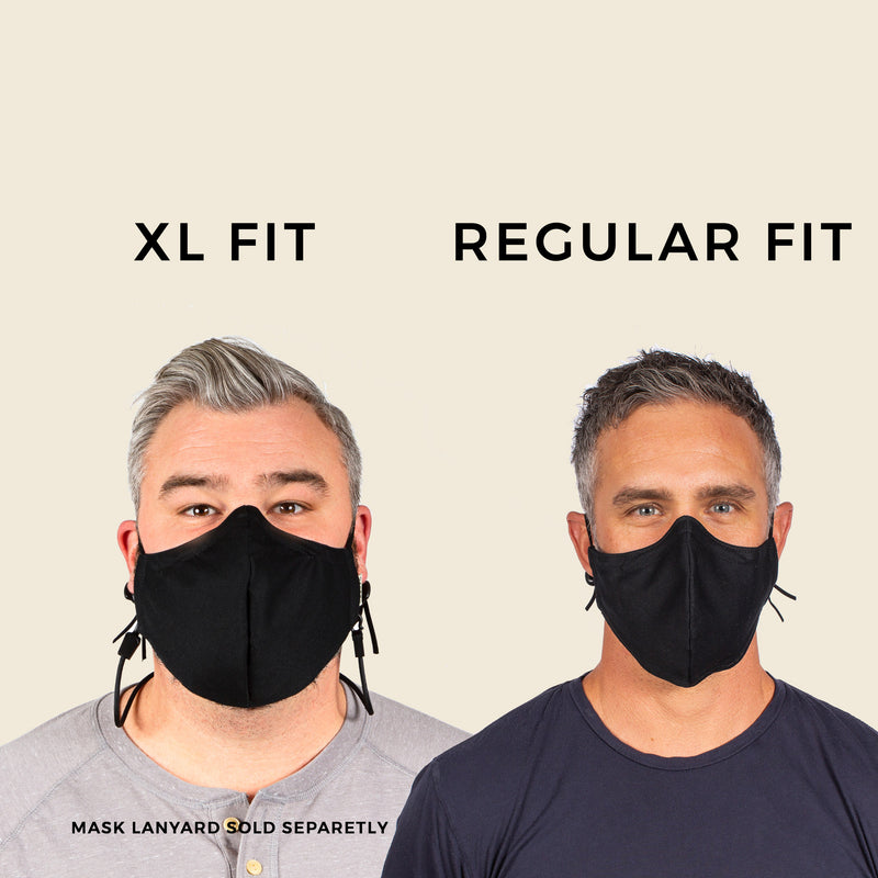 XL FACE MASK OCEAN / STEEL