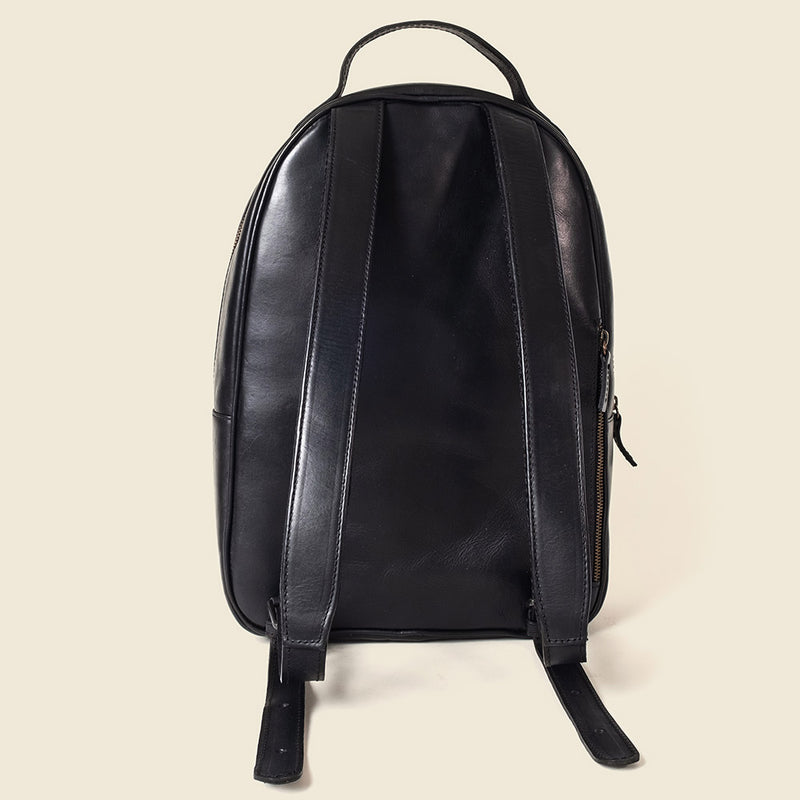 Sustainable leather backpack