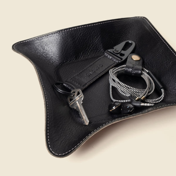 Travel valet tray - Black