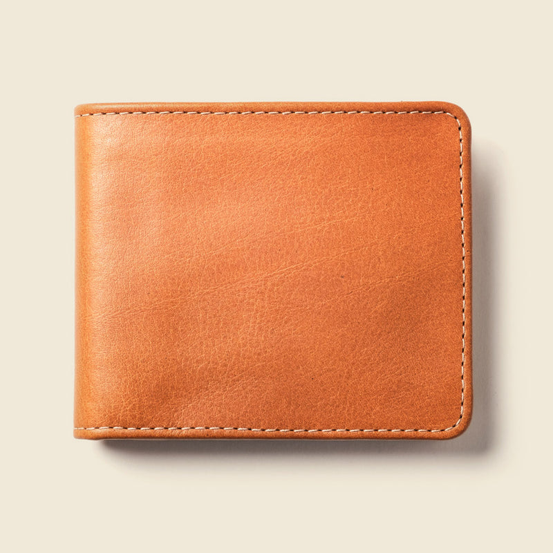 Large Billfold Wallet - Whiskey