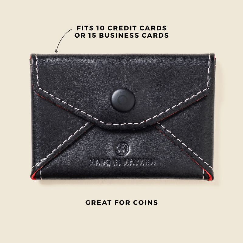leather envelop for coins