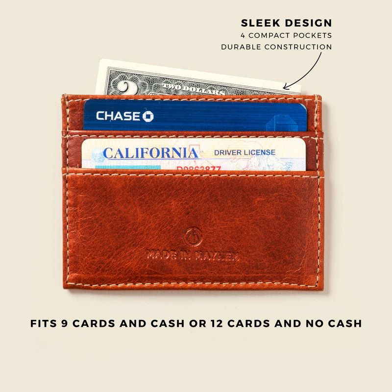 Wallet for front pocket