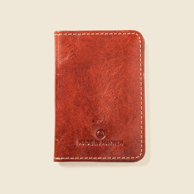 compact leather bifold