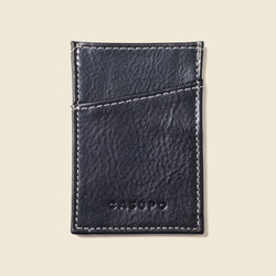minimalist leather wallet for men