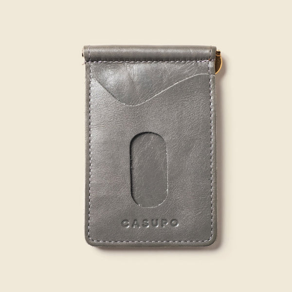Money Clip Wallet - Grey