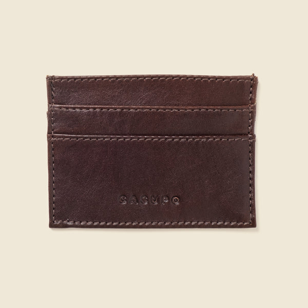 Slim Card Holder Wallet - Brown