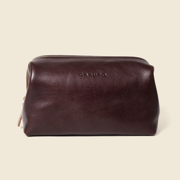leather dopp kit for traveller