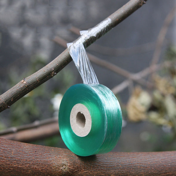 2CM X 100M Grafting Tape Stretchable Self Adhesive Grafting Film Special Fruit Tree Grafting Tool Garden Bind Tape