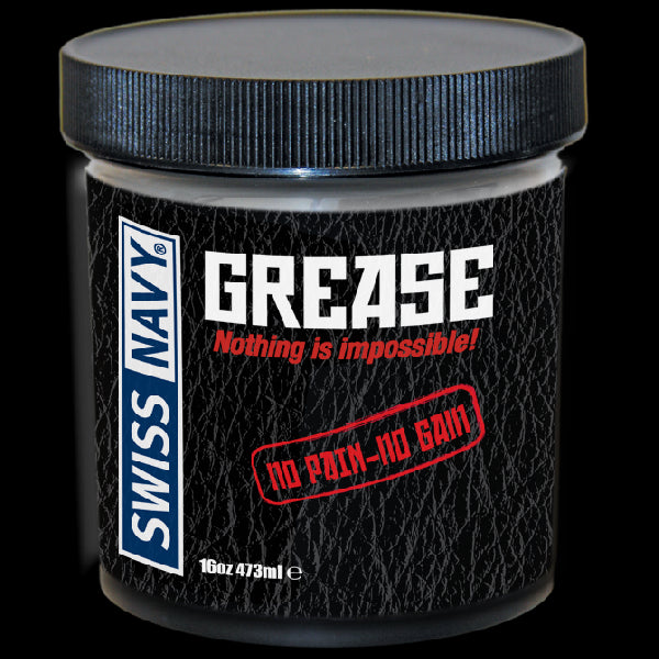Swiss Navy Grease Lubricant 16oz/473ml