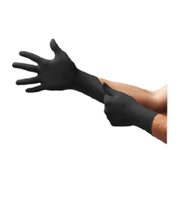 Glove Nitrile Black XL