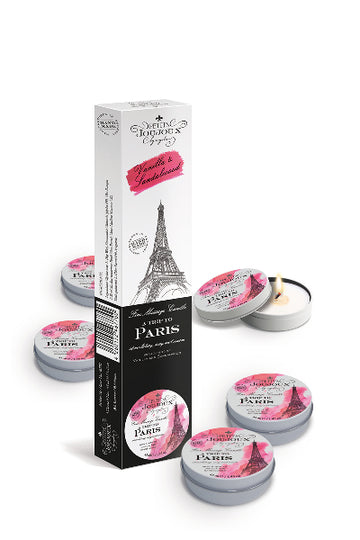 Petits JouJoux Massage Candle Paris 43ml Refill (5pc)