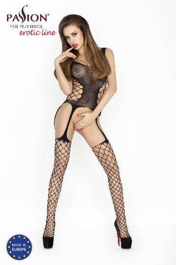 Bodystocking BS019 Black