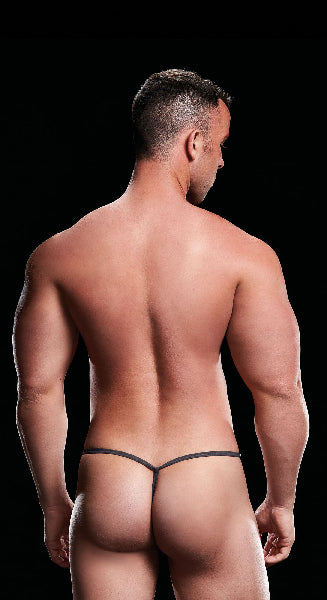 Low Rise G String Grey