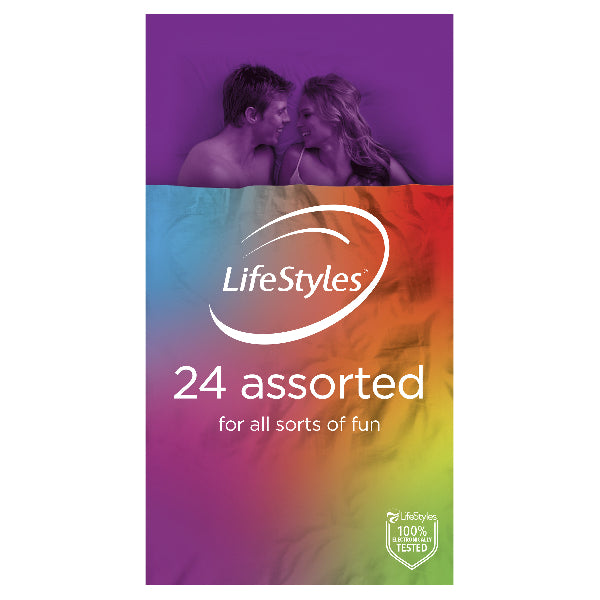 LifeStyles Assorted 24