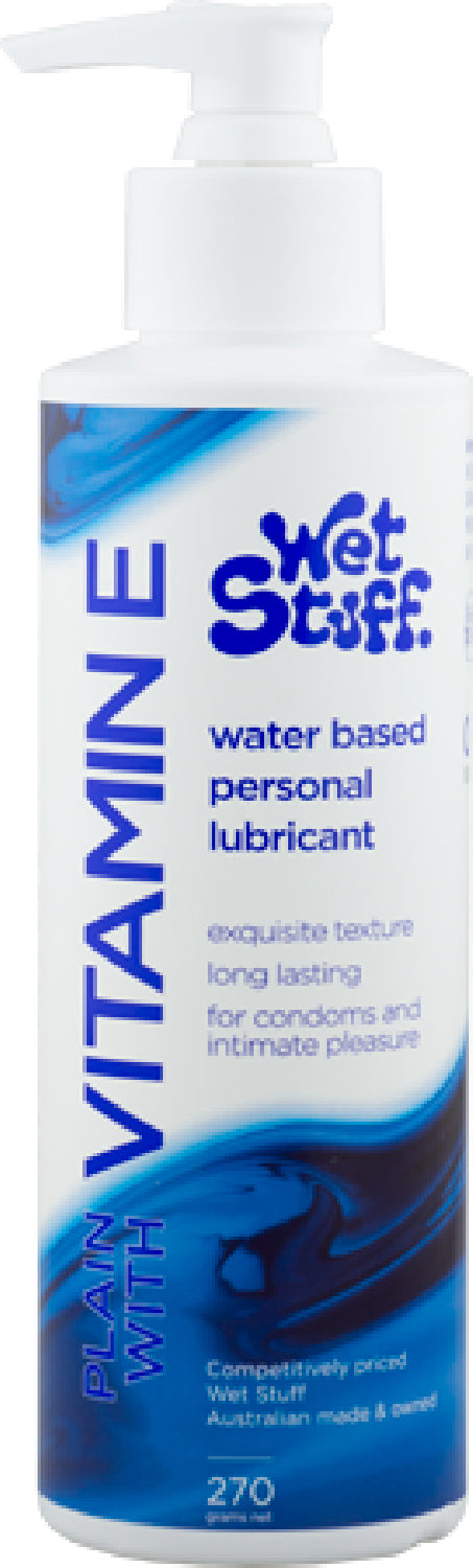 Wet Stuff Vitamin E - Pump Bottle