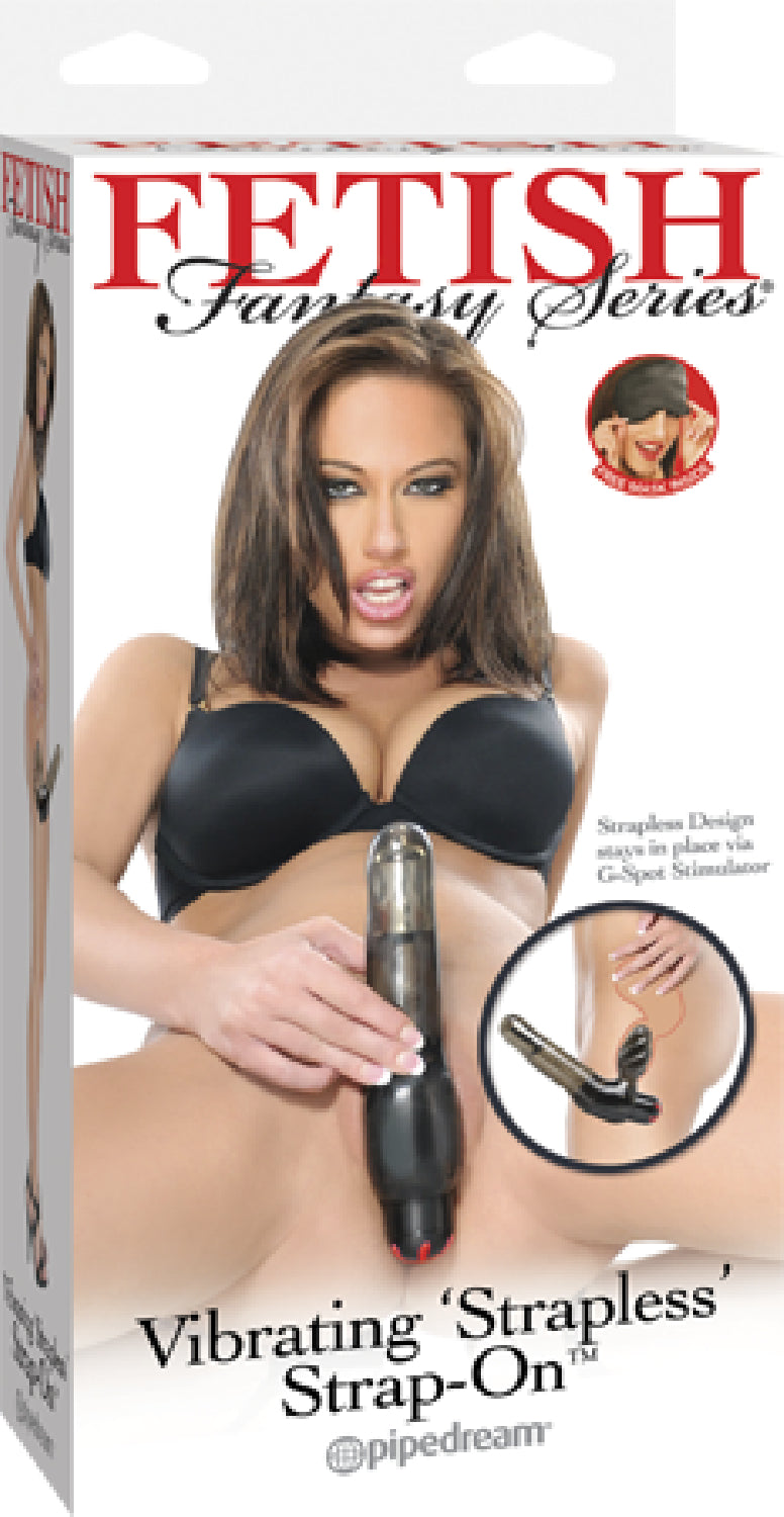 Vibrating Strapless Strap-On