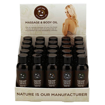 Hemp Seed Massage & Body Oil