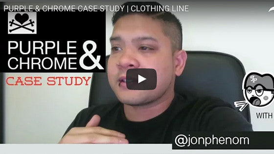 PURPLE & CHROME Case Study by Jon Phenom