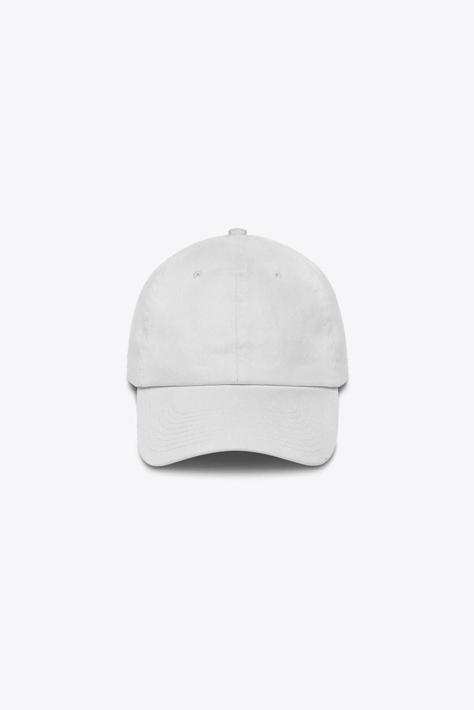 LOST & FOUND TWILL CAP IN WHITE - PURPLE & CHROME