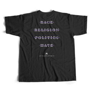 NO DIVISION t-shirt in black from PURPLE & CHROME