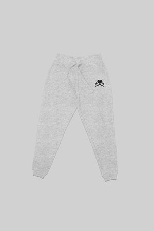 Heart and Crosses Sweatpant - Heather/Black