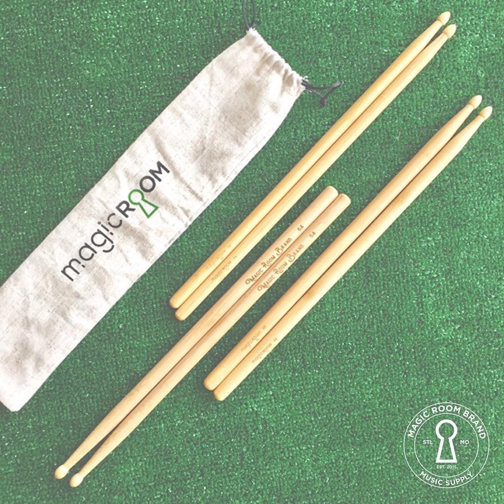 Earth Friendly Drumsticks 🥁