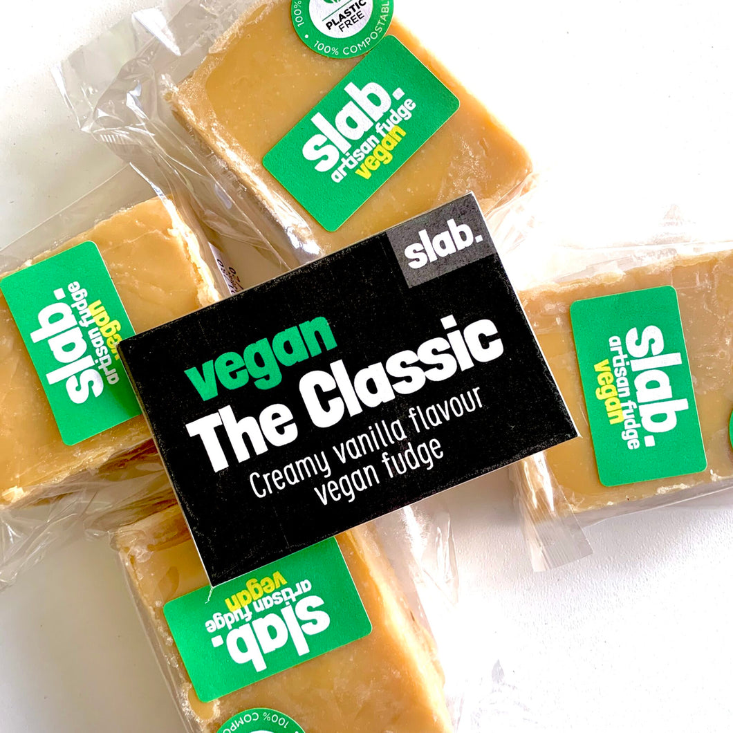 Classic Slab – Vegan Fudge