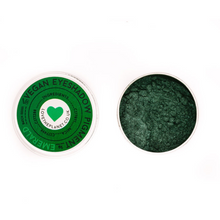 Load image into Gallery viewer, Vegan Mineral Eyeshadow Refillable Tin - Emerald (Love The Planet)