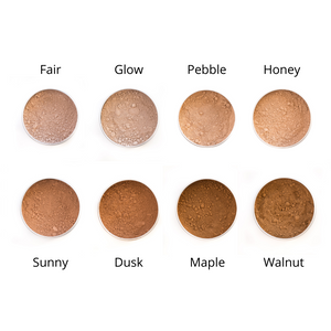 Vegan Mineral Foundation Refill Pouch (Love The Planet)