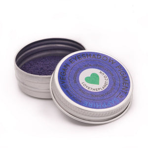 Vegan Mineral Eyeshadow Refillable Tin - Sapphire(Love The Planet)