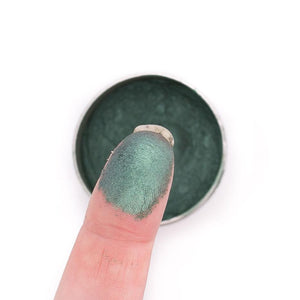 Vegan Mineral Eyeshadow Refillable Tin - Emerald (Love The Planet)
