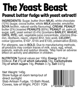 Yeast Beast Slab – Vegan Fudge