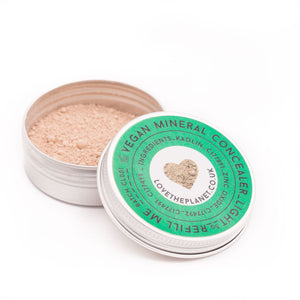 Vegan Mineral Concealer Refillable Tin (Love The Planet)