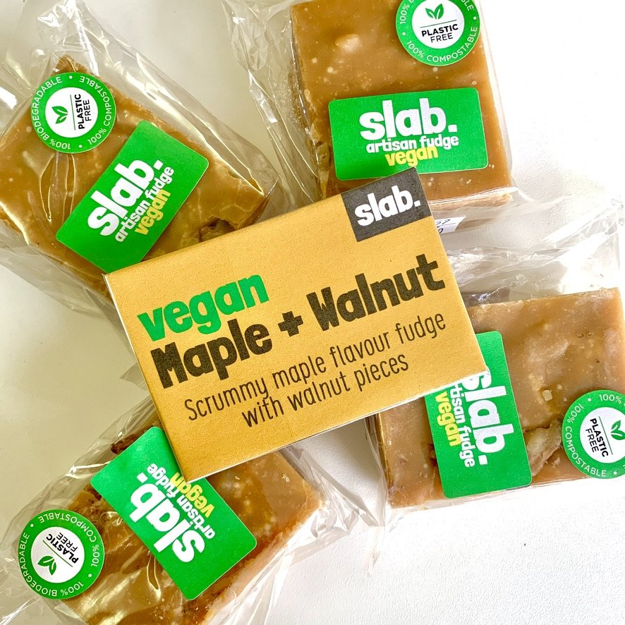 Maple and Walnut Slab – Vegan Fudge