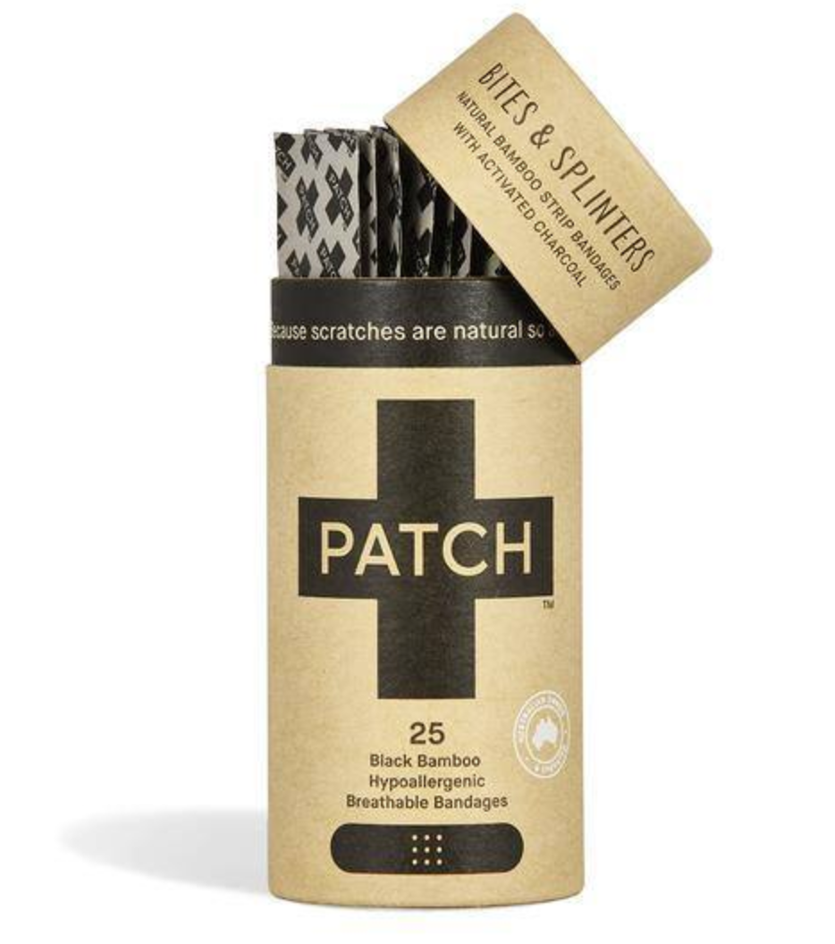 PATCH Biodegradable Plasters (Activated Charcoal)