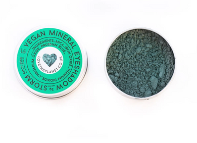 Vegan Mineral Eye Shadow - Storm (Love The Planet)