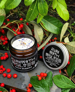 Snow Berries Soy Wax Candle - Run With Wolves 🐺