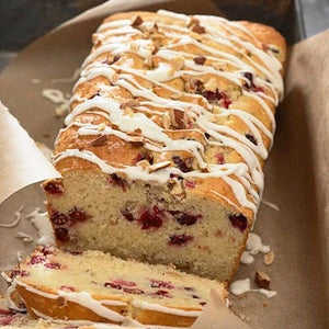 Delectable White Chocolate & Cranberry Cake Mix 🍰