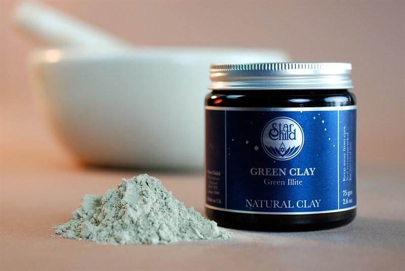 Star Child Green Clay