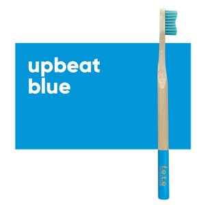 Adult Single Bamboo Toothbrush (Medium)