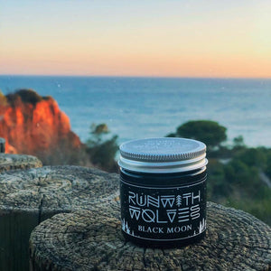 Black Moon Soy Wax Candle - Run With Wolves 🐺